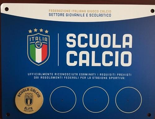 """Scuola Calcio: Siamo ufficialmente """"Elite"""""""