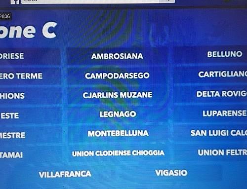 Serie D: Siamo nel Girone C!