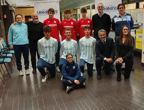 Sponsor: CereaBanca 1897 è il nuovo jersey sponsor della nostra Under-16