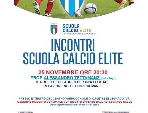 Secondo incontro di formazione lunedì 25 novembre a Casette