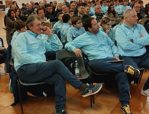 Grande partecipazione al terzo incontro di formazione organizzato dalla Scuola Calcio Elite biancazzurra
