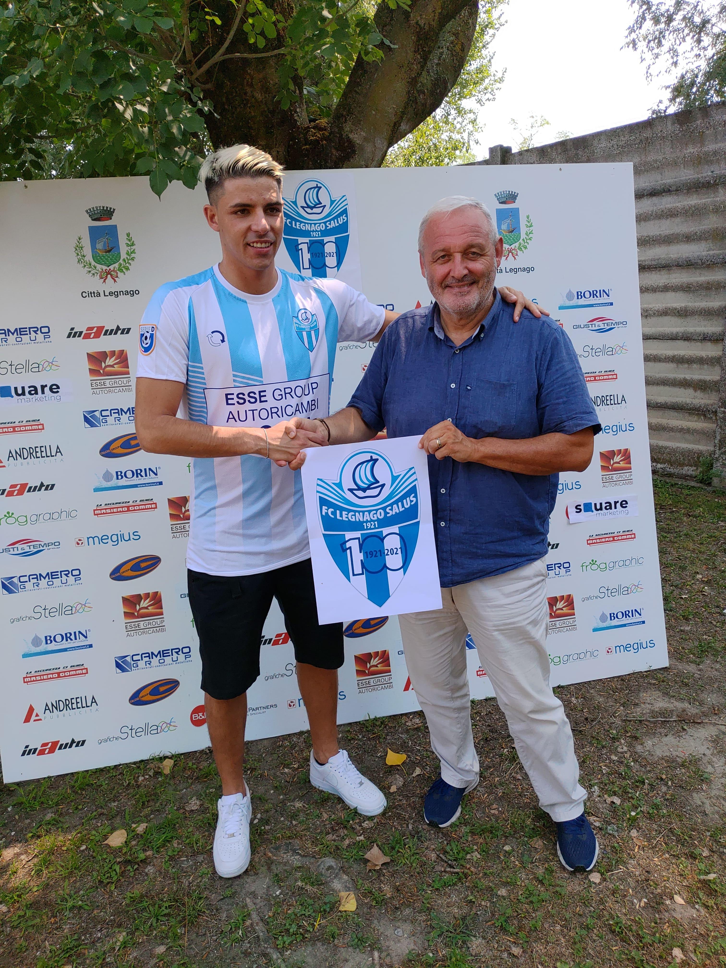#LegnagoForza100: Andrea Bondioli resta in biancazzurro!