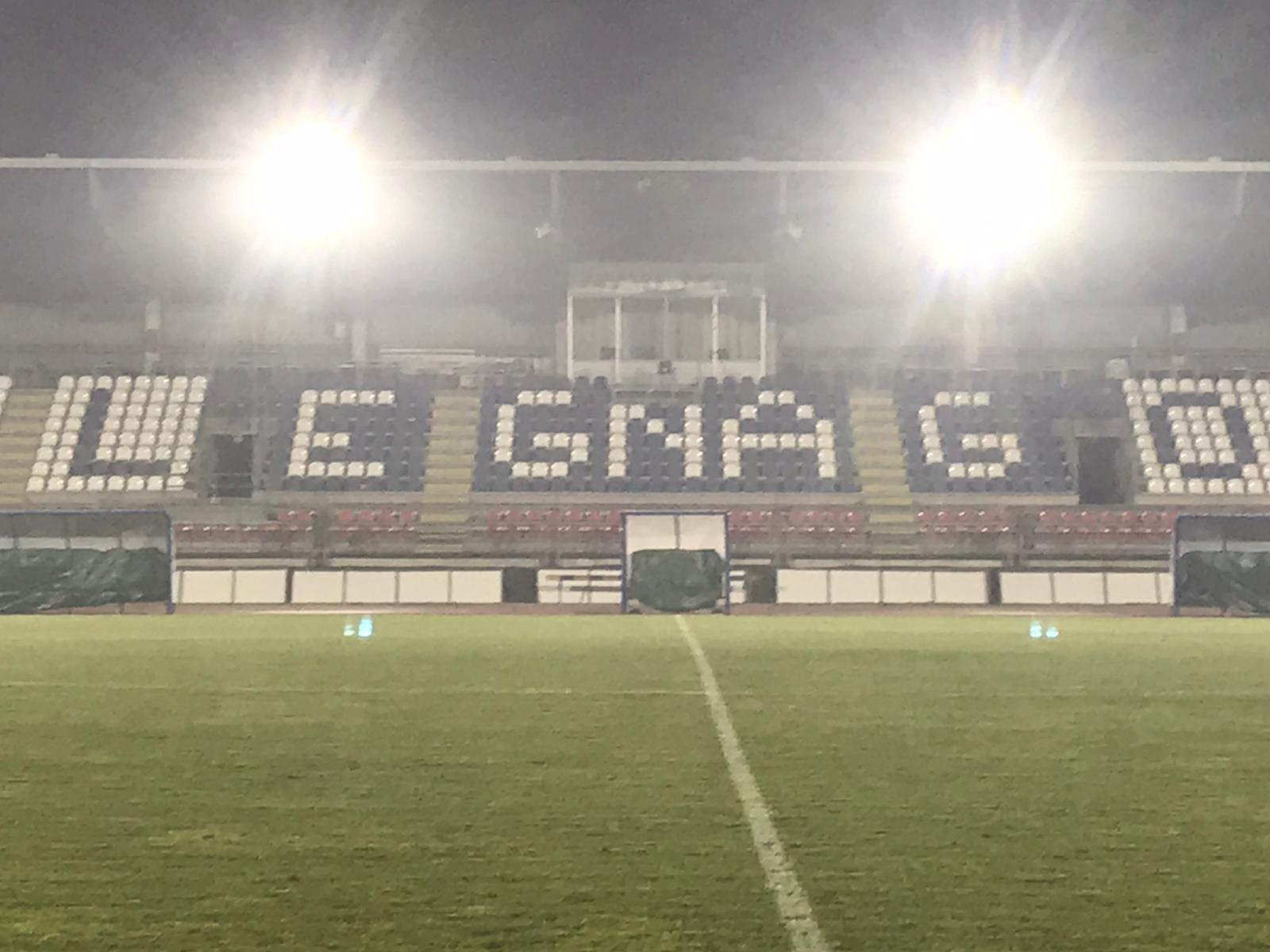 """Terminati i lavori di adeguamento allo stadio """"Sandrini"""""""
