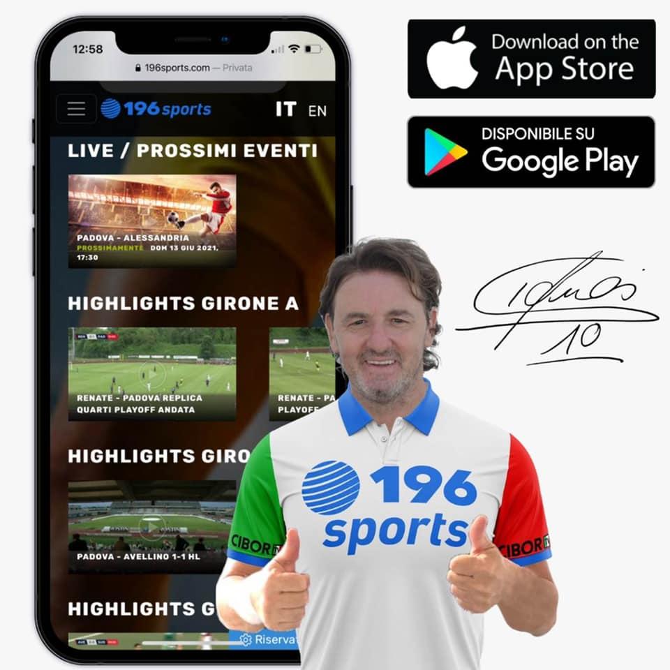 La Serie C all'estero? Su 196 Sports!